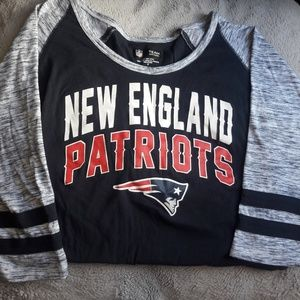 Women's Cut Cotton Patriots Jersey